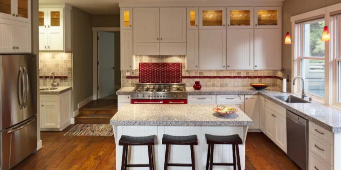 whimsical kitchen floor residential gary davis group